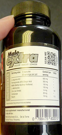 Male-Extra-Back-Label